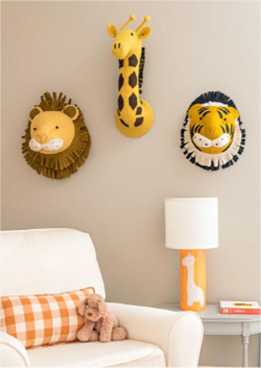 nursery playful interior design