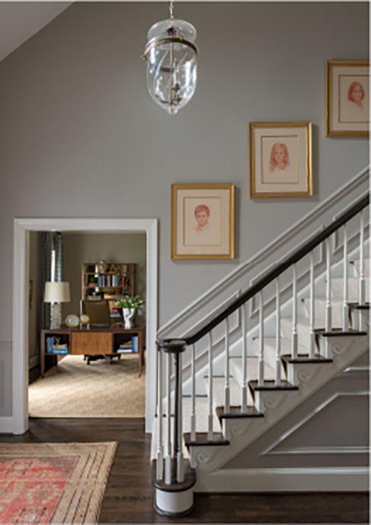 traditional foyer design