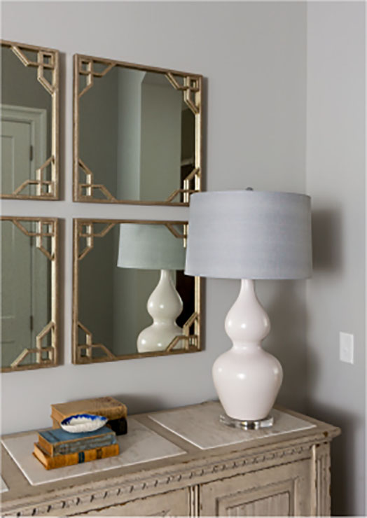 modern lamp and accessories