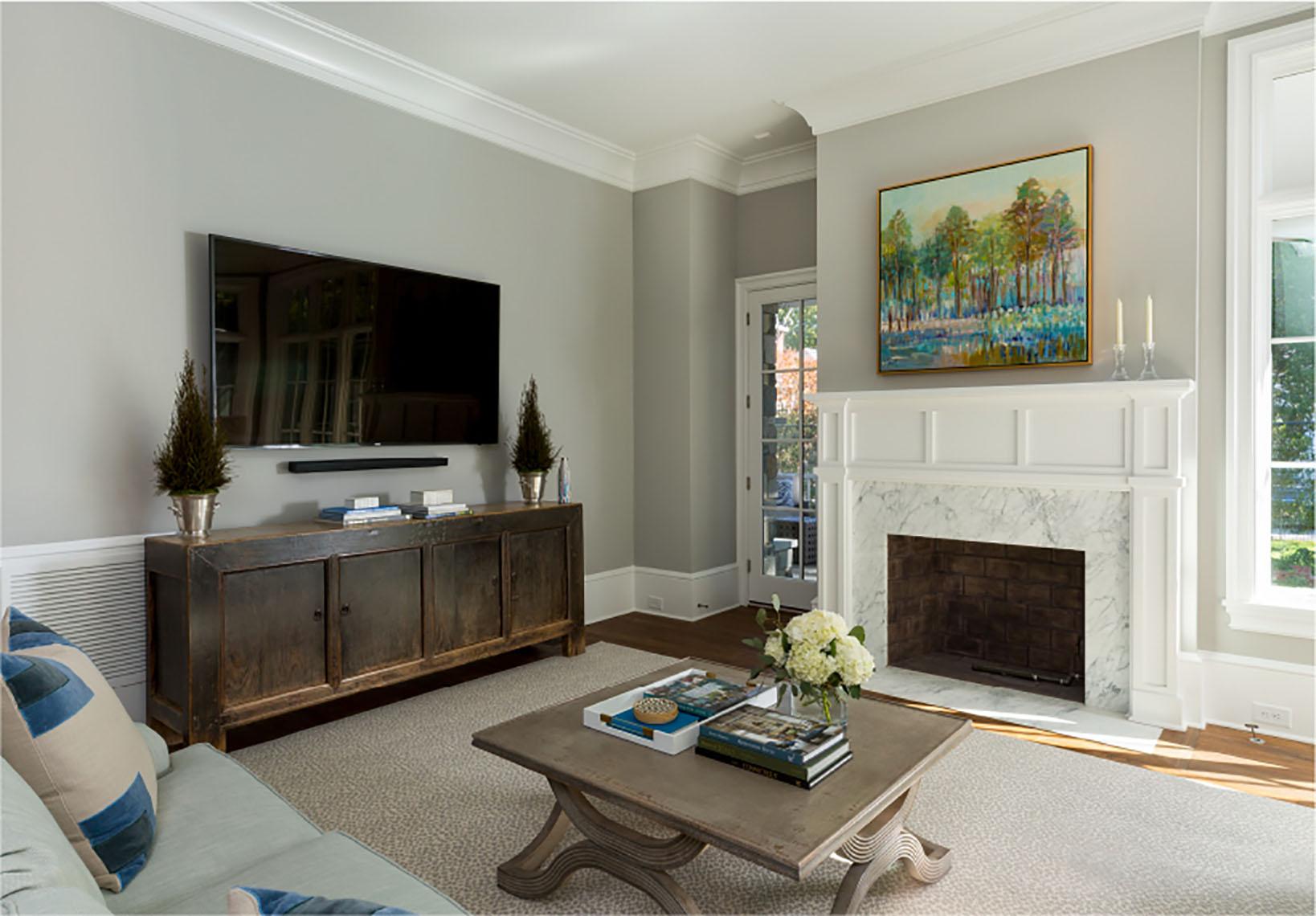 living room neutral design
