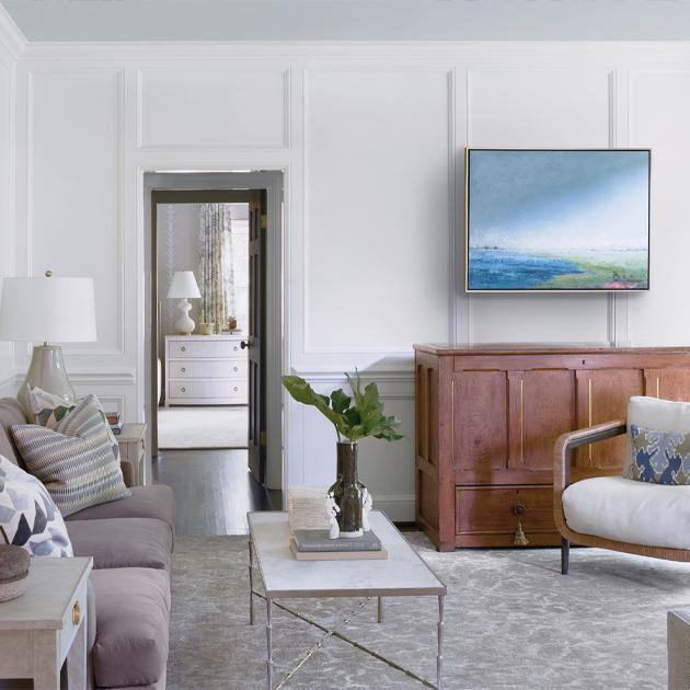 modern den interior design
