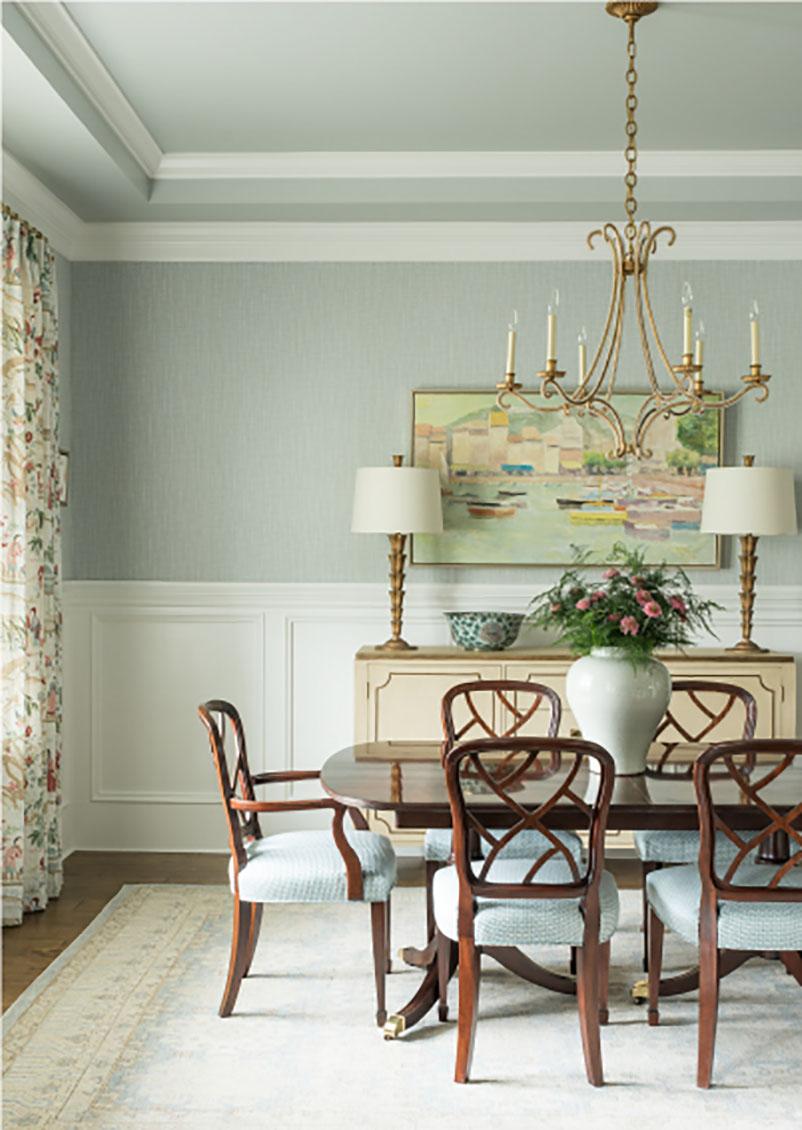 classic dining room interior design